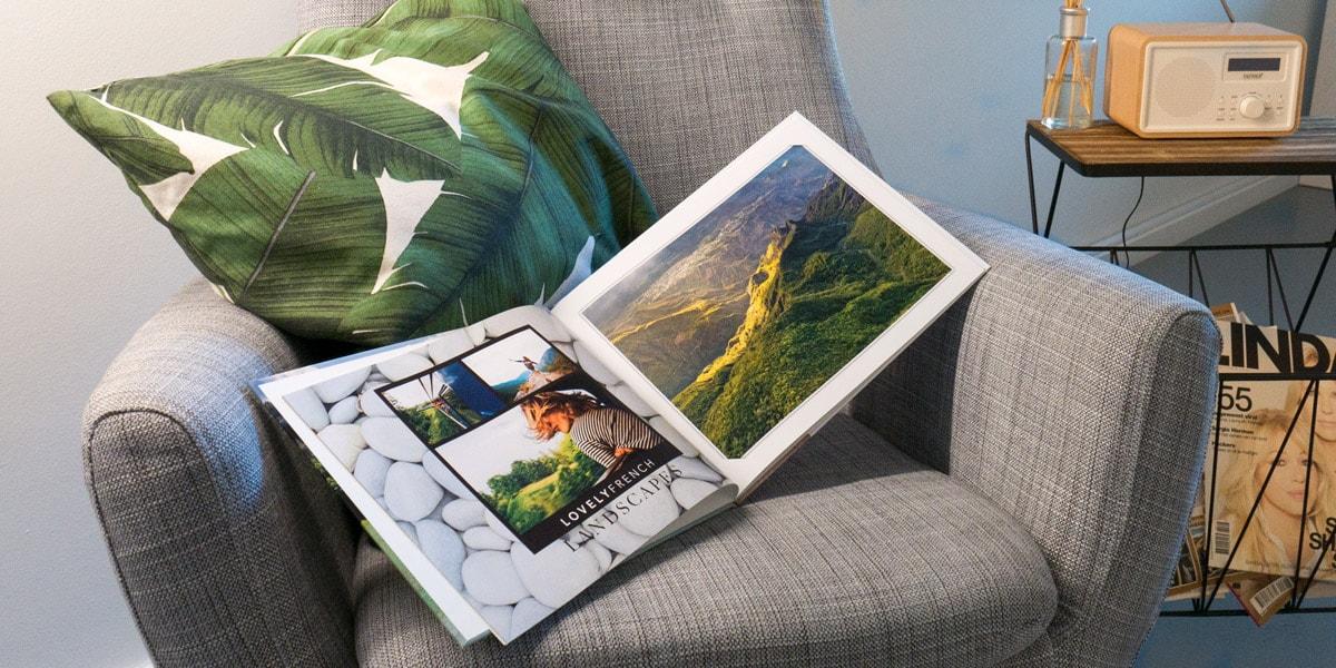 un guide simple pour cr er un album photo de vacances inoubliable albelli. Black Bedroom Furniture Sets. Home Design Ideas