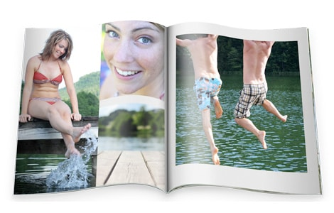 fotoalbum softcover staand