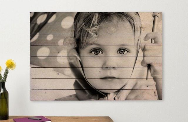 Foto op hout nu 20 korting op alles albelli - Fotos en madera ...