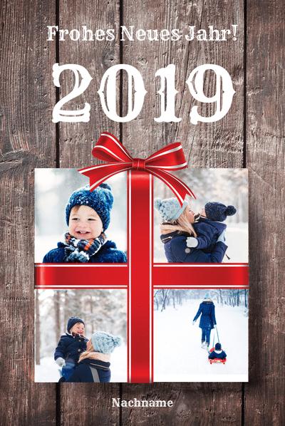Neujahrskarten 2019 gestalten » Schnell und einfach erstellen ...