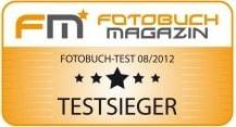 Testsieger bei FM* - Das Fotobuch Magazin
