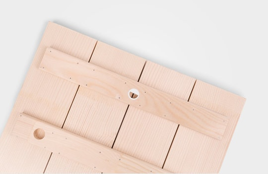 Foto auf Holz