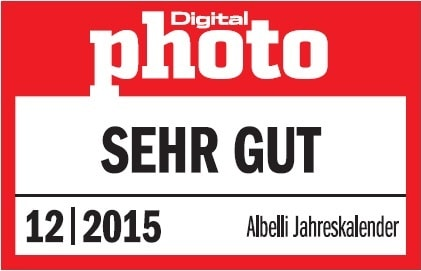 Digitalphoto Fotokalender Test 2015