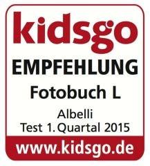 kidsgo Fotobuch Empfehlung 2015