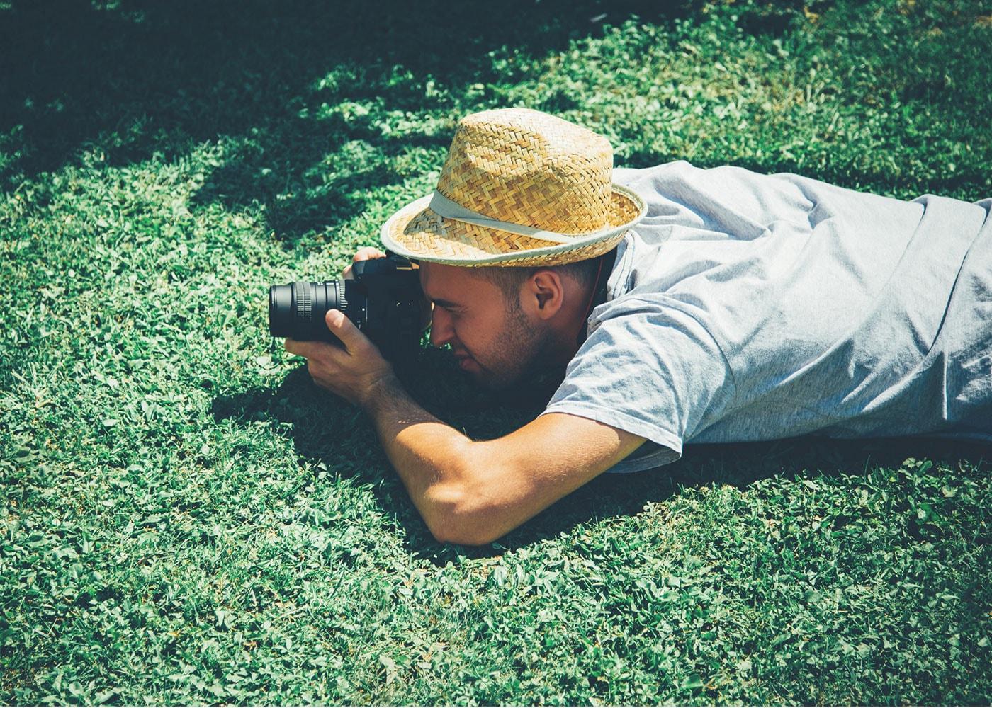 Bei der Portraitfotografie an den Standpunkt denken