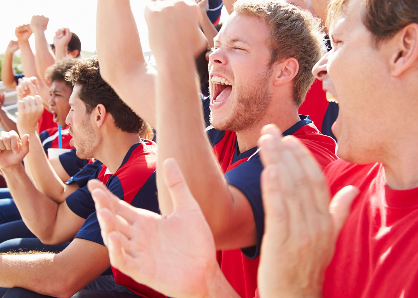 Publikum bei Sportevents fotografieren