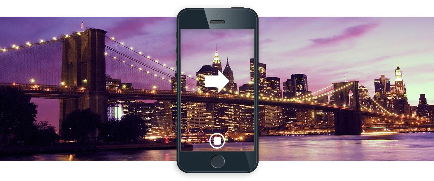 Panoramafotos mit dem Smartphone anfertigen