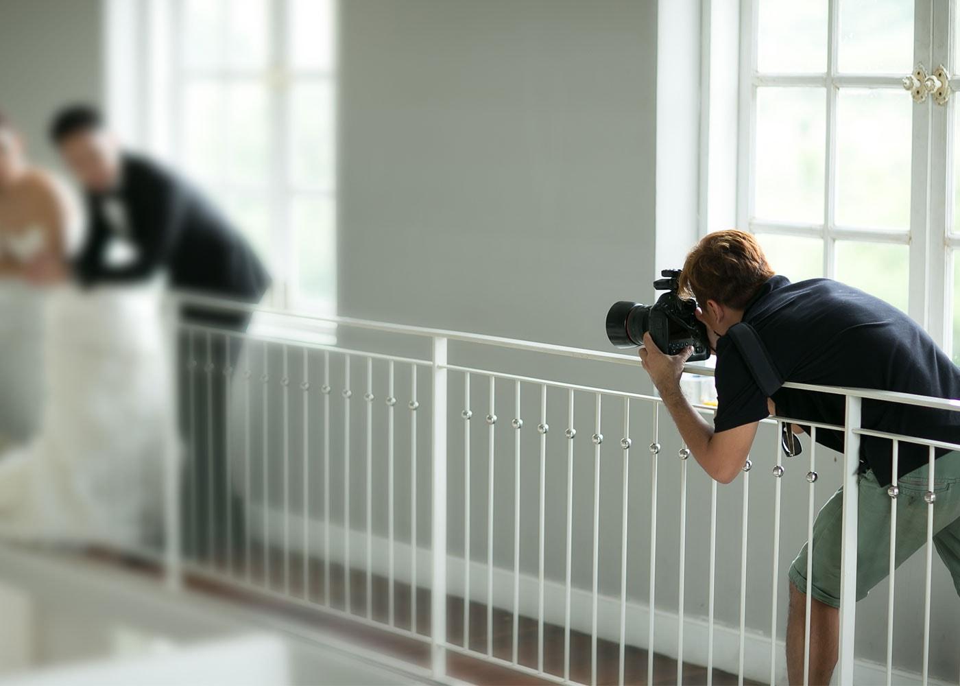 Beim Fotografieren stabil hinstellen