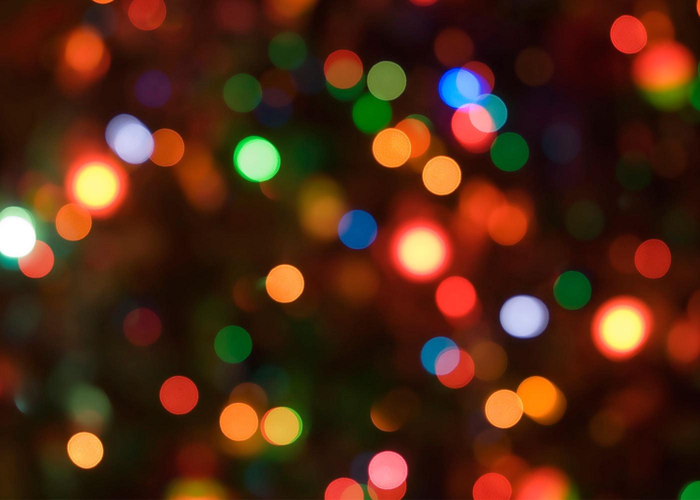 Weihnachtsbeleuchtung kreativ fotografieren