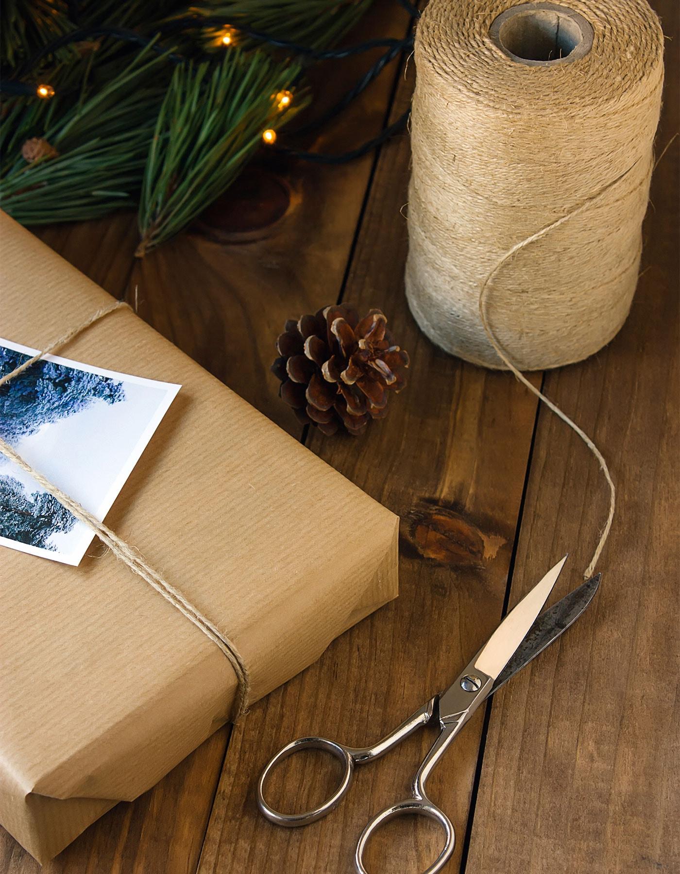 Weihnachtsfotos mit Blitz im Freien erstellen
