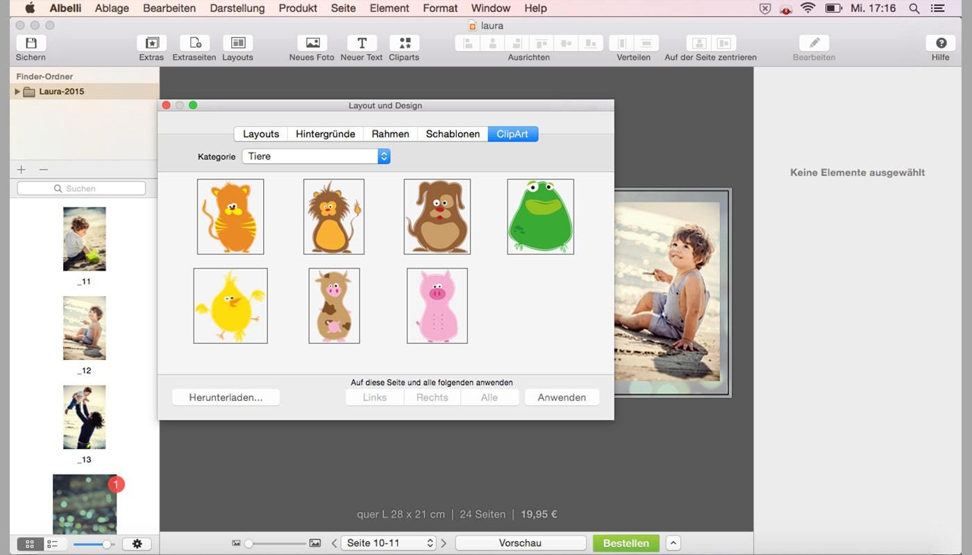Update Gestaltungssoftware! Mac version 2.0 | albelli.de