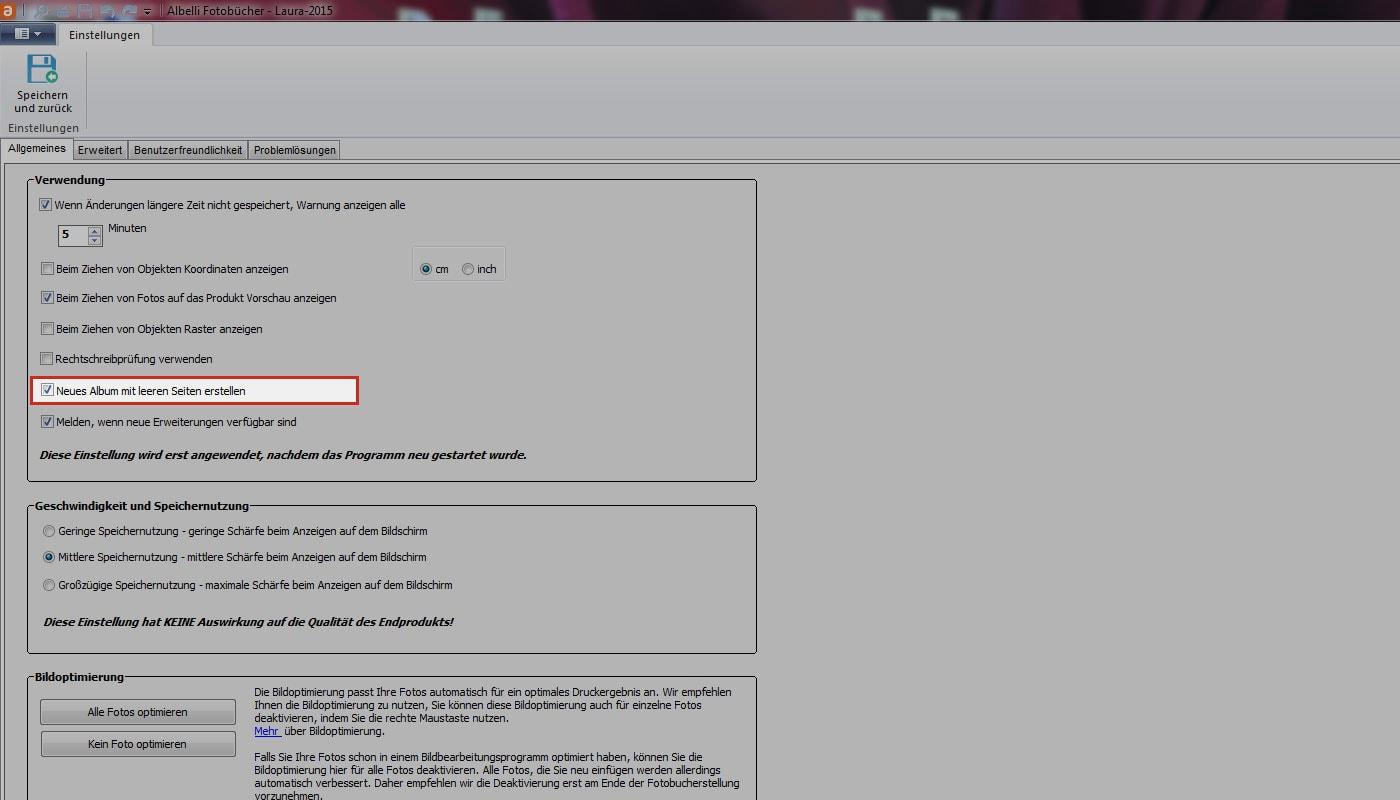 Update Gestaltungssoftware! Windows version 8.1 | albelli.de