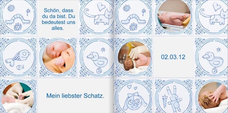 Babytagebuch Beispielseite