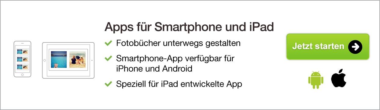 Apps fur Smartphone und iPad