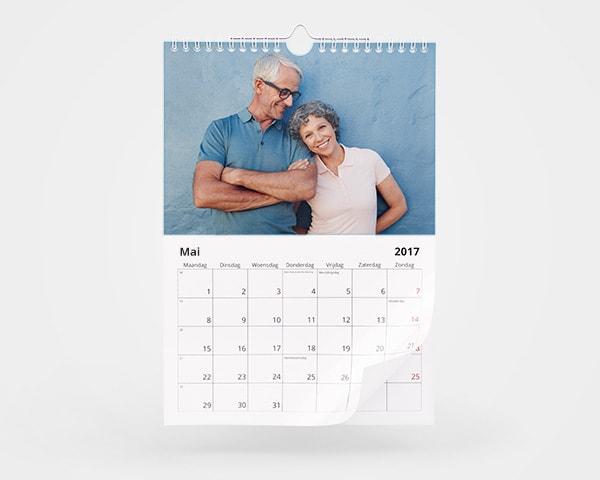 Jahreskalender Doppelseitig A4