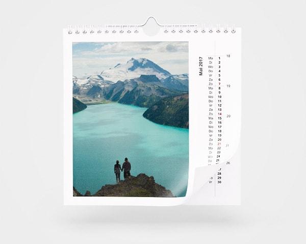 Jahreskalender Quadratisch