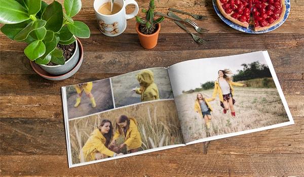Extra großes Fotobuch
