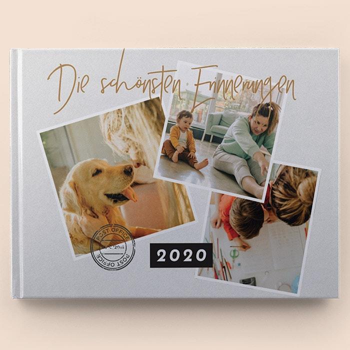 Das Jahrbuch im Scrapbook-Stil