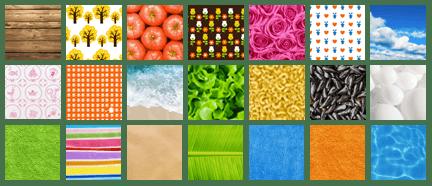 Différents modèles d'arrières plan pour le logiciel Mac