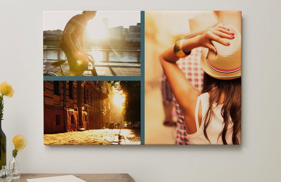 Créez un pêle-mêle photo sur votre toile