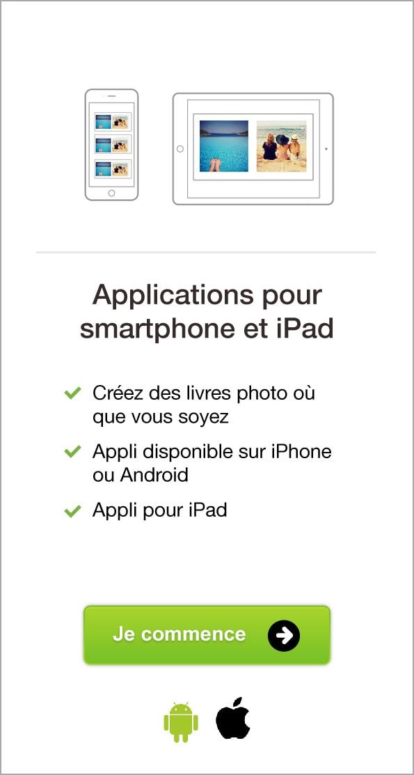 Applications pour smartphone et iPad