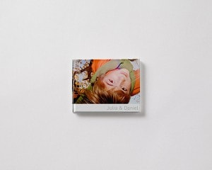 Fotobok liggande S pojke vinter