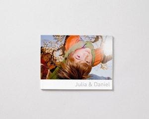 mjukt omslag fotobok liggande M pojke vinter