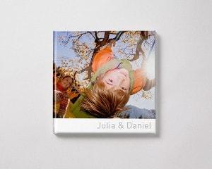 Fotobok kvadratisk L vinter pojke