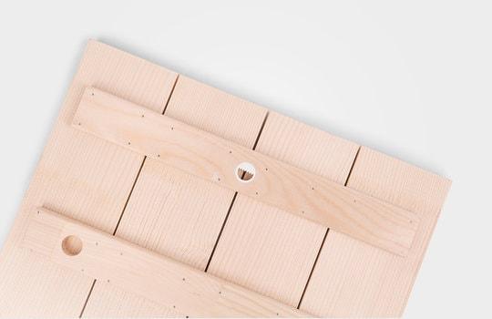 Bild på trä