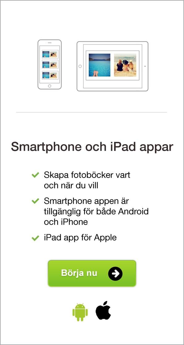 Smartphone och iPad appar