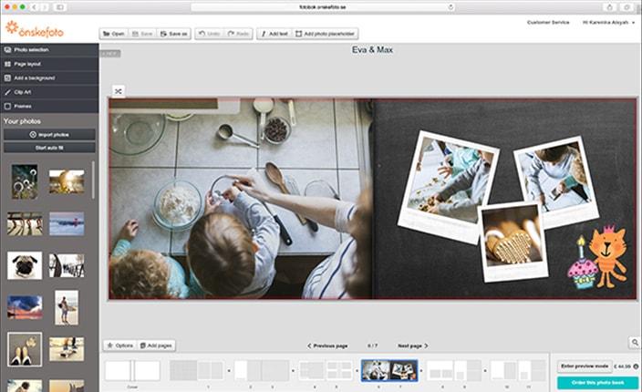 Online fotoboksprogram