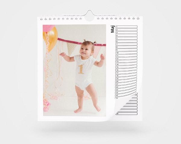 Fickkalender med egna foton