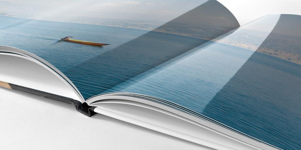 Fotobok med högglansigt papper