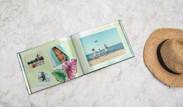 Liggande fotoböcker