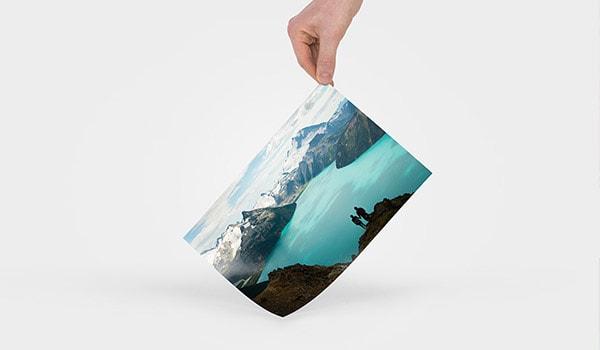 Framkallade bilder i A4-format