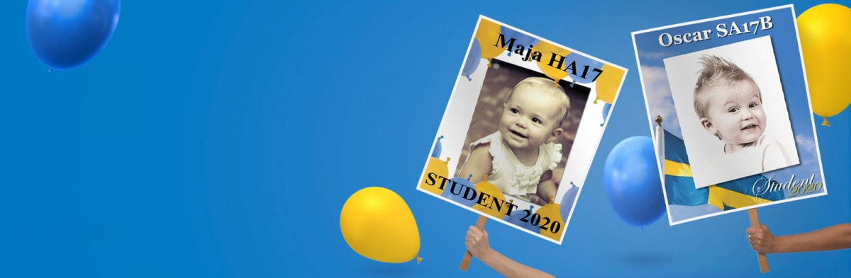 Studentplakat – Studentskylt 2020