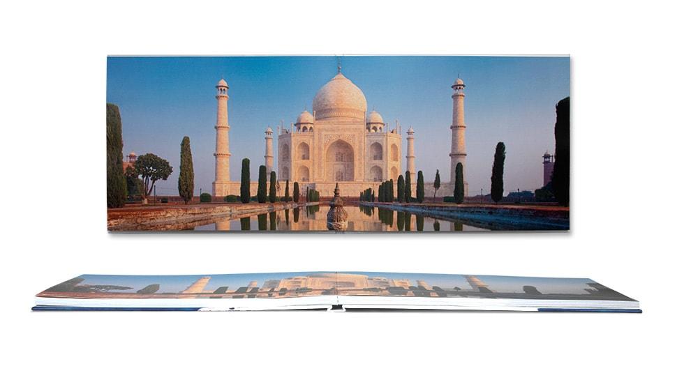 Extra opties Platliggend Premium Voorbeeld - Taj Mahal