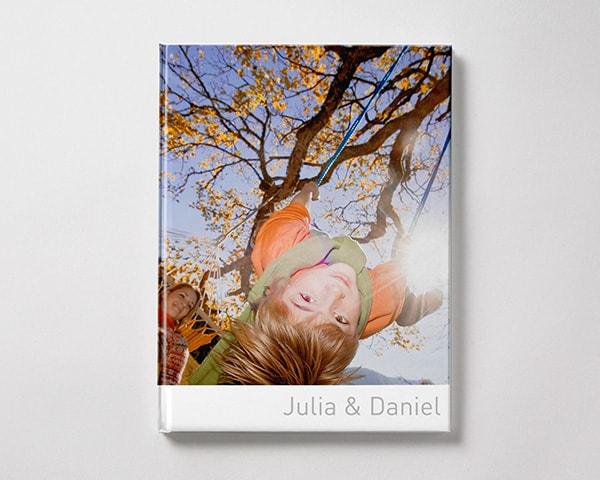 Fotoboek Voorbeeld Staand - Kind in schommel L