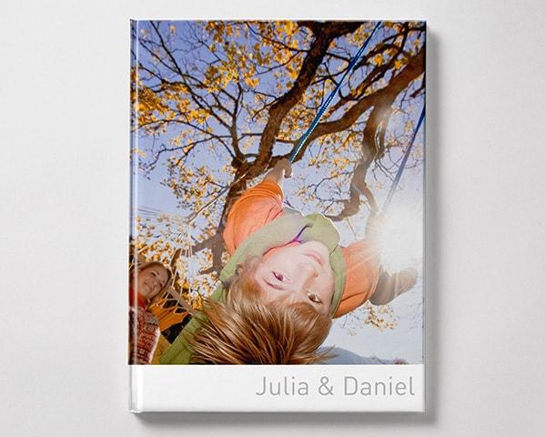 Fotoboek Voorbeeld Staand - Kind in schommel XL