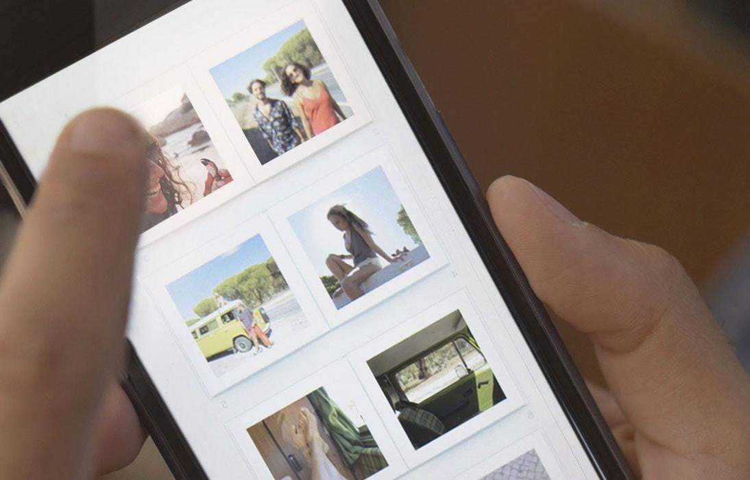 Fotoboeken maken met de iphone app