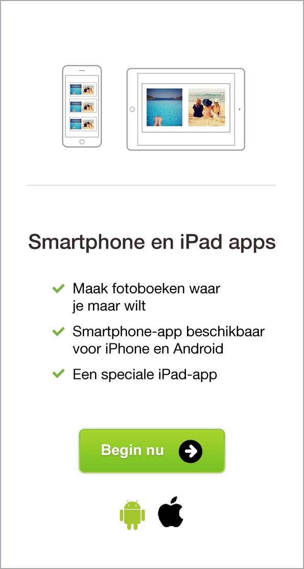 Smartphone en iPad apps