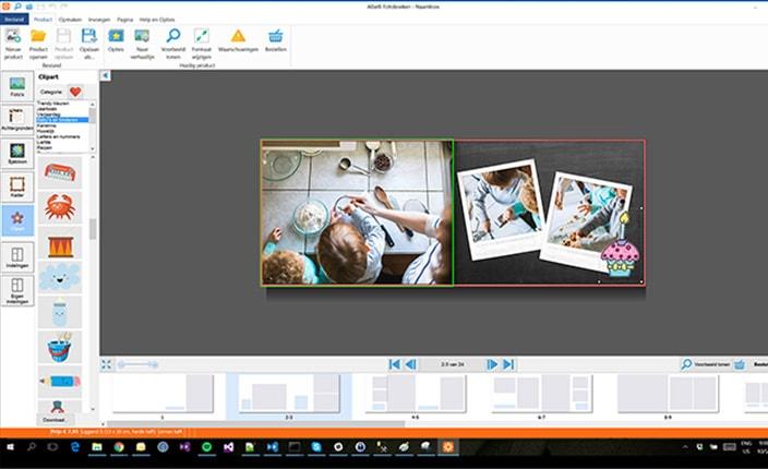 Offline fotoboekprogramma