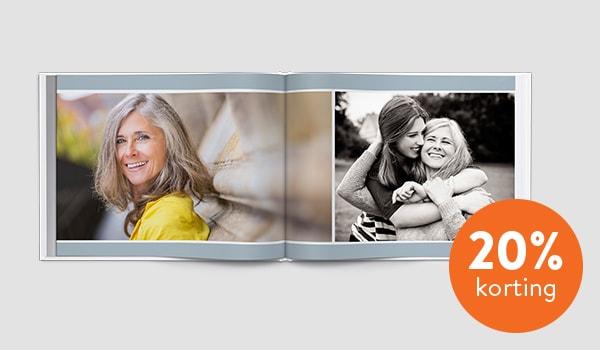 fotoboek maken 20% korting