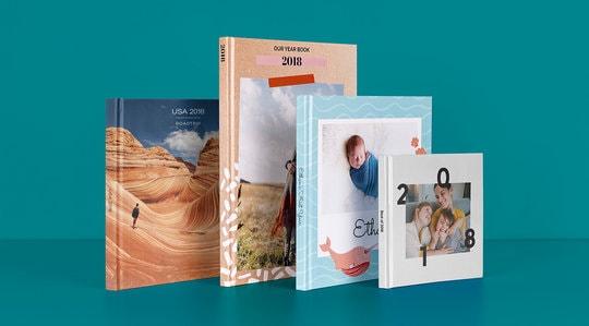 20% korting op fotoboeken