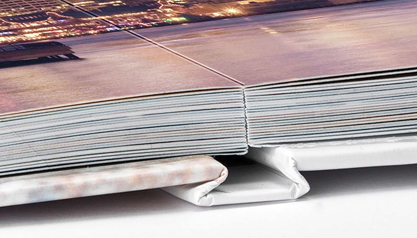 Platliggend premium fotoboek