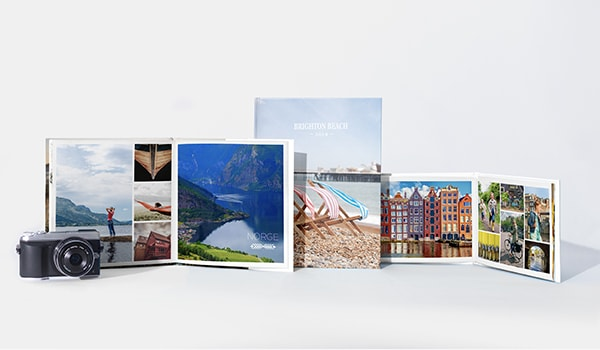 Opties voor fotoboeken