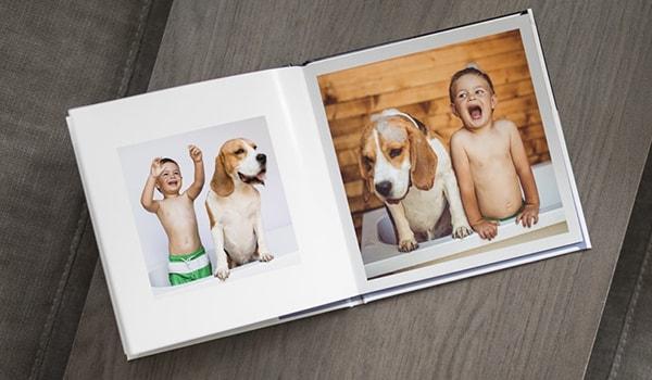 Vierkante fotoboeken