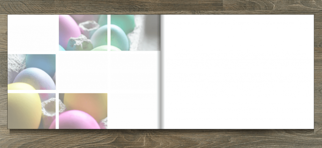 albelli photo book creator tool - Mosaic layout for photo books