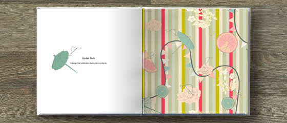 Candy's design in a photo book spread - albelli Photo books
