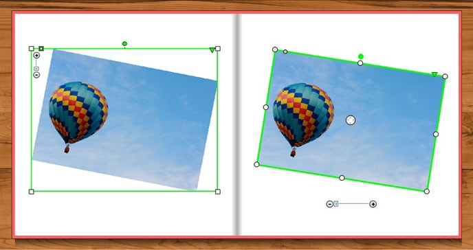 Photo book creator tool update for Windows - rotate feature is better